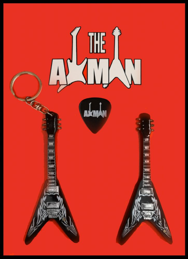 Kerry King (Slayer) Flying V: Keyring & Magnet Variation (UK Seller)